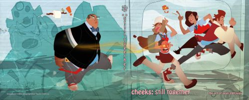 Gumshoes 4 Hire artbook cover by cheeks-74