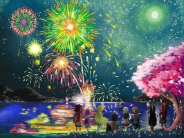 Happy New Year with Elsword by miyuu490
