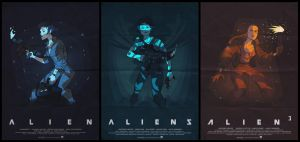 Ripley trilogy by ArkadeBurt