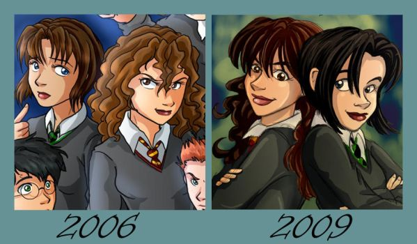 Improvement - Pansy+Hermione by irishgirl982