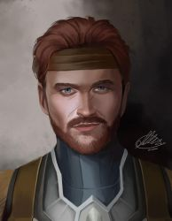 Commission: Theign Mildenhall by HalChroma