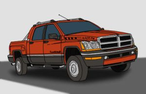 Dodge Ram concept by ScottaHemi