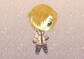 Chibi Leon Kennedy RE4 by MadeInHeavenFF15