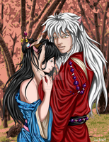 Inuyasha and Jane by InuIrusa-chan