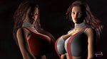 Twins - Layla and Lola 02 by The-MoonKing
