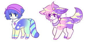 random feral adopts OPEN by viixens