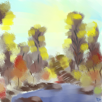 Playing with Bob Ross 1.1 by A-Tabit-Production