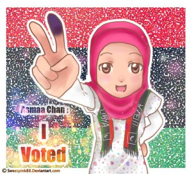 Asmaa Chan Voted by sweetpink88