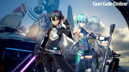 Kirito and Sinon - Fatal Bullet Outfit by YuseiCrimsonKnightX