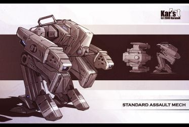 Standard Assault Mech by KaranaK