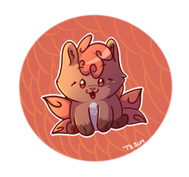 The Little Vulpix by TwistedZepher