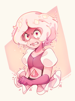 Steven Universe - Pink Diamond by Darklephise