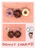 Donut Charms by 0xo