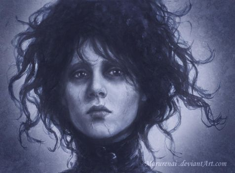 Edward Scissorhands by marurenai