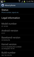 GALAXY S II 2012 XXB 4.0.3-10 by Linux4SA