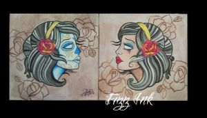 Day of the Dead Girls by FIZZINK