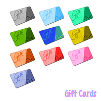 Gift Cards icons by FDQ