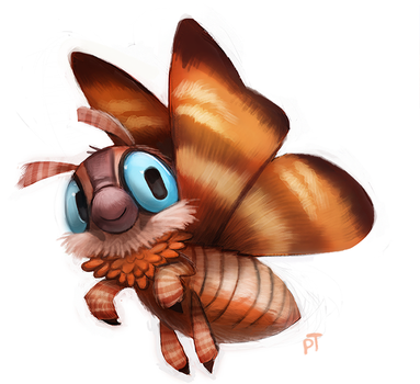 Day 536. Kaiju - Mothra by Cryptid-Creations