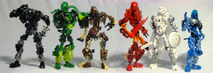 Toa Legends- group shot by J-Meister