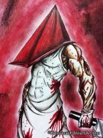 Red Pyramid Thing by XxLevanaxX