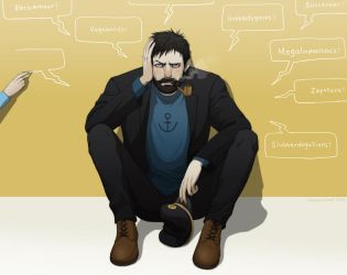 C for Captain Haddock by doubleleaf