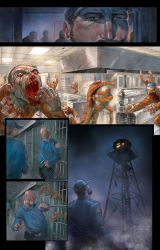 ZOMBIE GRAPHIC NOVEL PREVIEW! by RayDillon