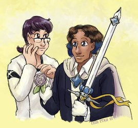 Canon (ish) Magical Thorn by ErinPtah