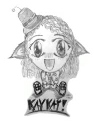 Chibi Kaykay by Froggy-Spaztastic