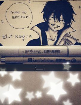 Zeref - Fairytail [REFERENCE]  by VaporeonDraws