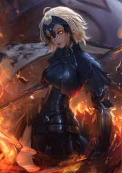 Jeanne d'Arc Alter (v2) by raikoart