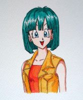 Bulma from Dragonball by roffa5