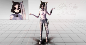 [MMD Oc] Kelly by Steph-the-Bunny