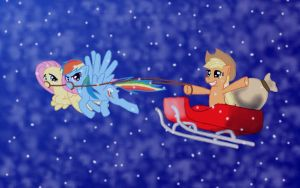 Merry Christmas Everypony by mmtOB3