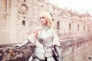 Cosplay Saber Lily - Fate Stay Night [ECG 2012] by MahoCosplay