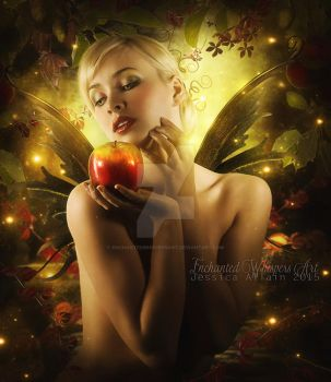 The-Magical-Apple by EnchantedWhispersArt