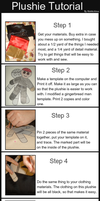 Plushie Tutorial by Mahkohime