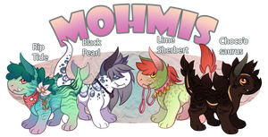 Mohmi OTA! Offer To Adopt! OPEN - RIP TIDE AVAIL. by Demite