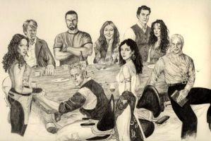 Firefly crew by Toadman005