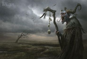 Witch - Production Painting by helgecbalzer