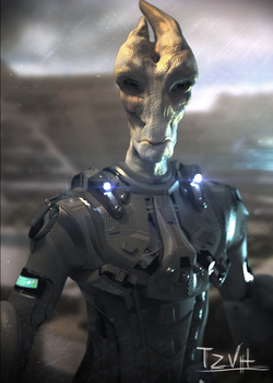 Young Mordin by TZVH