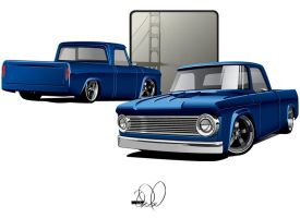 67 Dodge D100 custom by cityofthesouth