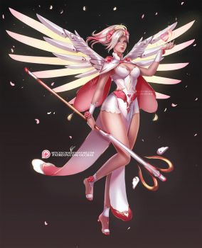 Angel of Love Mercy by OlchaS