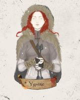 Asoiaf - Ygritte: Kissed by Fire by HetteMaudit