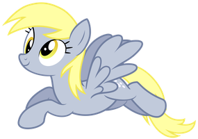 Derpy Flying Vector #2 by GreenMachine987