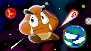 See You in Space, Goomba by kenshinmeowth
