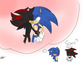 .:Sonadow:.Sonic thought by Excelises