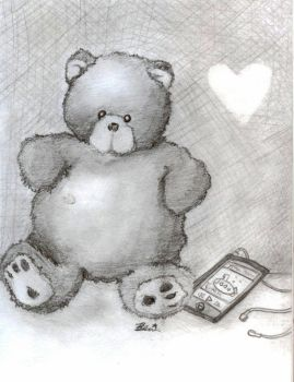 Teddy iPod by smudgedfingers