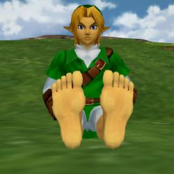 Link's Big Hero Feet 01 by BigJayRock