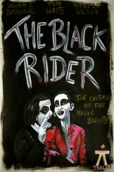 The Black Rider Poster by Woschaebedip