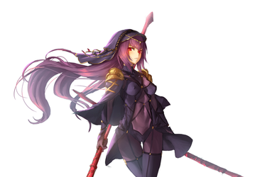 Scathach by AthenaWyrm